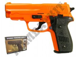 HA109 Airsoft BB Gun Black and Orange